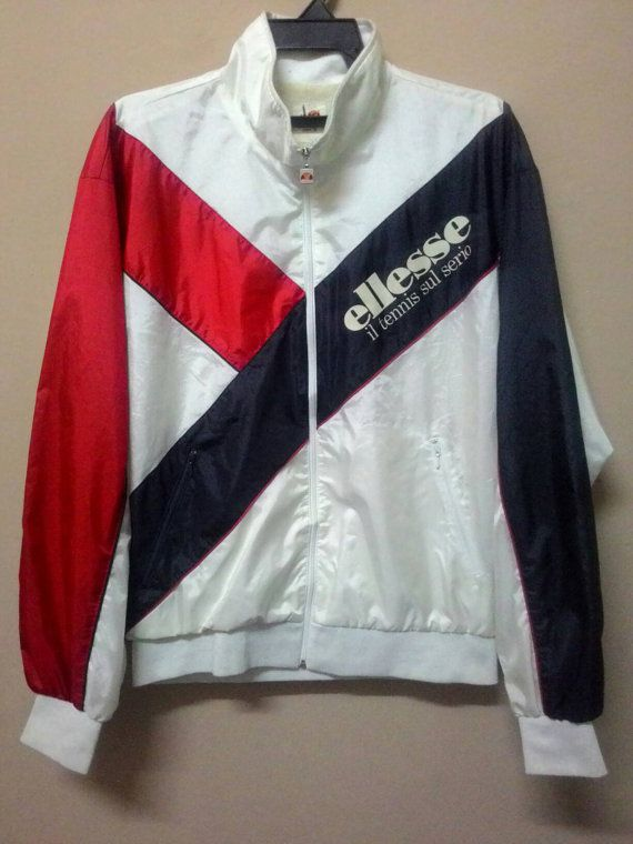 Check out this item in my Etsy shop https://www.etsy.com/listing/493326249/vintage-ellesse-jacket-windbreaker