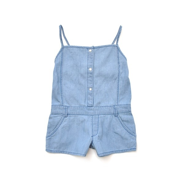 denim one piece romper for girls...i am dying
