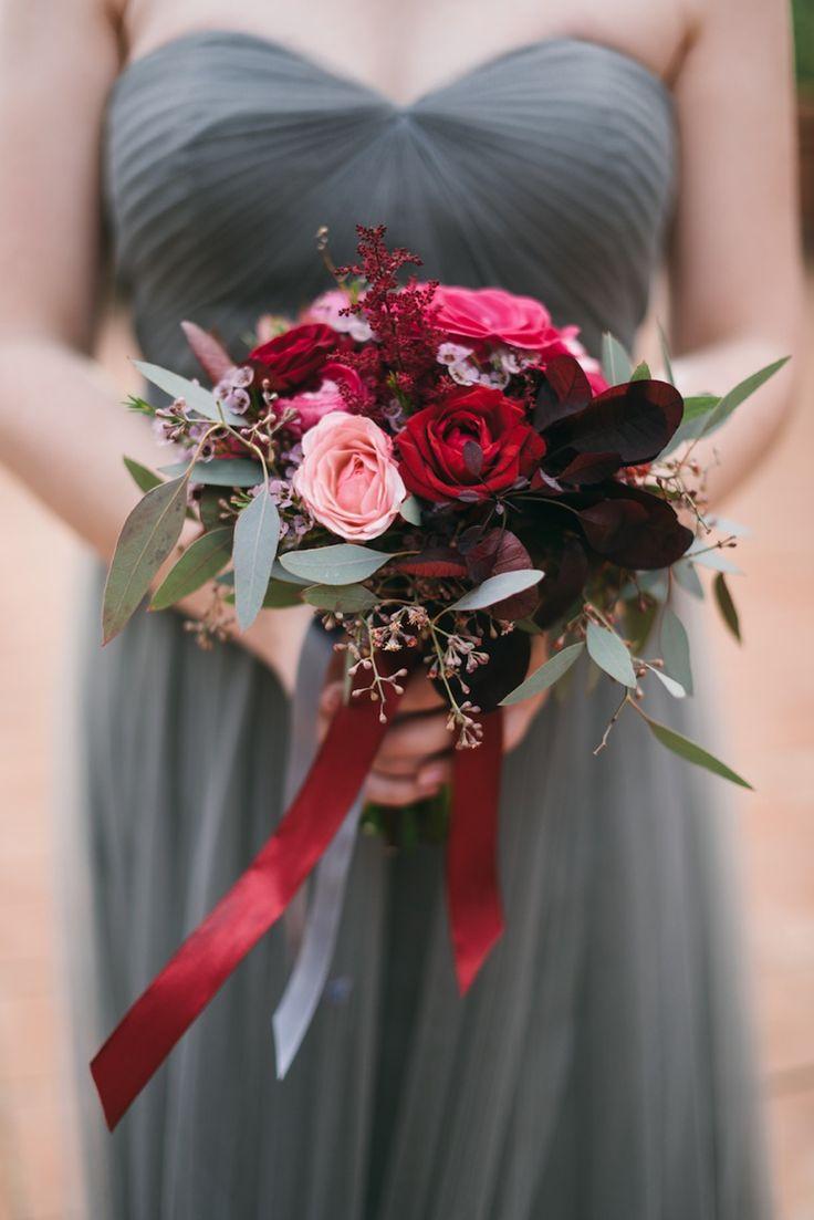 Tuscan Dream Destination Wedding | Fly Away Bride Image by Lisa Poggi #wedddingbouquet #rosebouquet #astilbebouquet #tealwedding #rubywedding