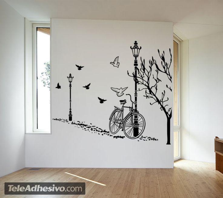 M s de 25 ideas incre bles sobre murales decorativos en for Murales y vinilos infantiles