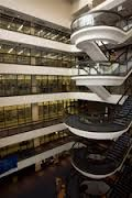 Iconic Unisa Library stairs