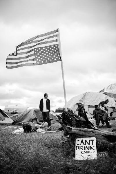 Standing Rock ~ photo: Taté Walker