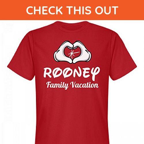Matching Rooney Family Vacation: Unisex Next Level Premium T-Shirt - Relatives and family shirts (*Amazon Partner-Link)