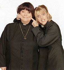 Vicar of Dibley.    Love it! Not a movie but I didn't have another category to put it in.