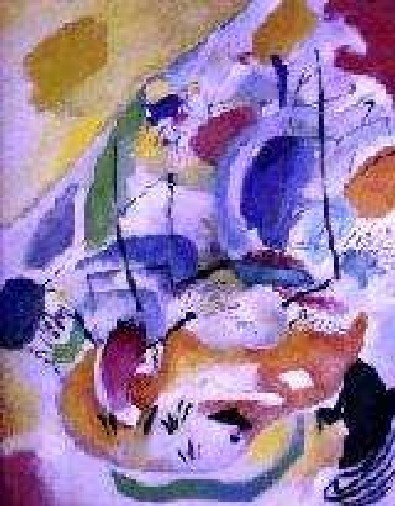"""""""L'artiste ne nomme plus, il exprime""""   Vassili Kandinski, le philosophe de l'abstraction."""