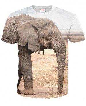 SŁOŃ Koszulka Tshirt Full Print