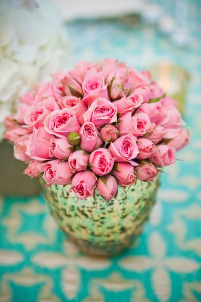 Pretty pink roses.