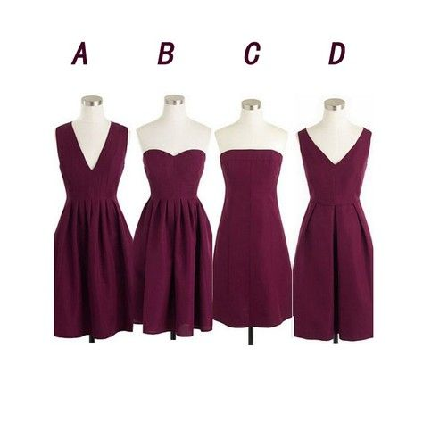 The Marnoon bridesmaid dresses are fully lined, 8 bones in the bodice, chest pad in the bust, lace up back or zipper back are all available, total 126 colors are available. Most brides order all bridesmaid dresses at a time, we recommend this way, firstly, we could use the same roll material to ...