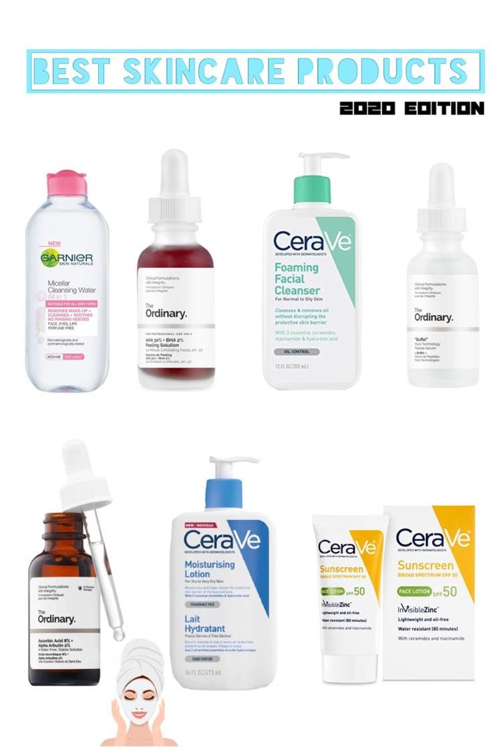 First Start By Removing All The Dirt Off Your Face Using The Garnier Micellar Water Second Use The Ord Best Skincare Products Skin Care Skin Cleanser Products