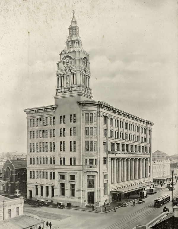 The Argus Building, Melbourne, VIC, Australia (1930s)