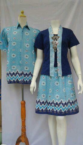 Couple Dress Encim  Size Pria M L XL          Wanita Allsize LD 100cm Bahan Batik Katun Halus Motif  Harga 150rb #batikindonesia #batikbagoessolo #dress #seragambatikkantor #jumputan #fashion