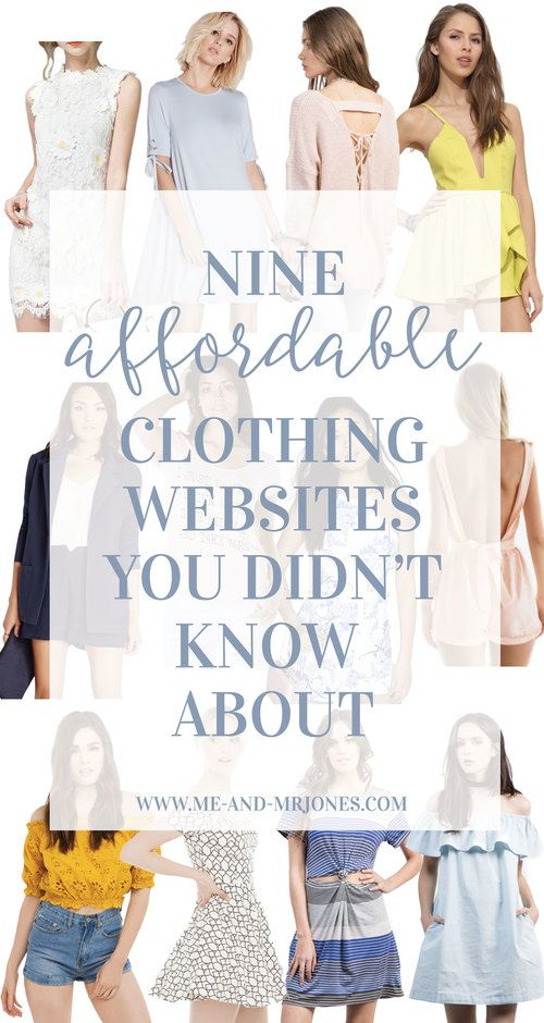 Best 25  Clothing websites ideas on Pinterest
