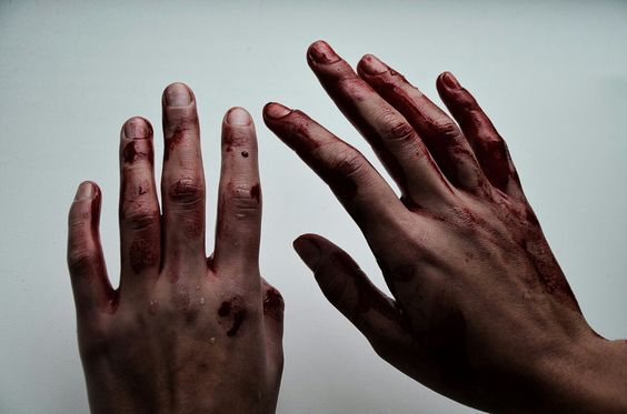 """""""the blood on my hands scares me to death. maybe i'm waking up, today."""""""