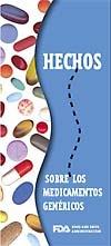 Folleto informativo FDA sobre medicamentos genéricos