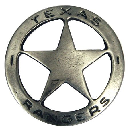 Old West Badge - Texas Ranger     $12.95