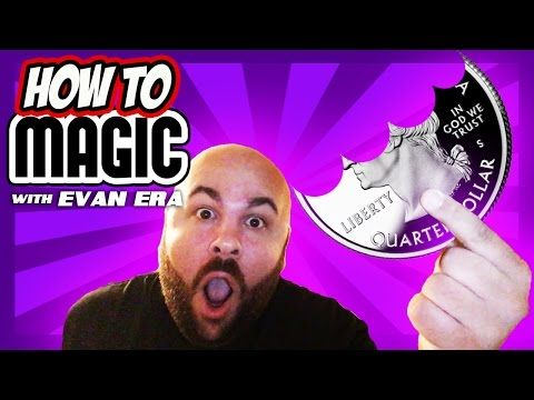 How to BEND a COIN with FINGERS! Magic Trick! - YouTube