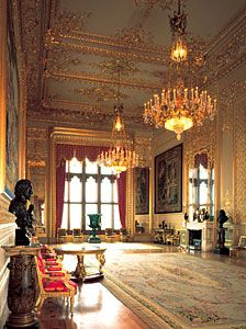 The Grand Reception Room restored. Windsor Castle the Grand Reception room - Google Search