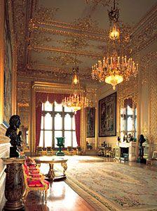 The Grand Reception Room restored. Windsor Castle the Grand Reception room - Google Search