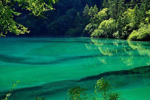 Panda Lake, China