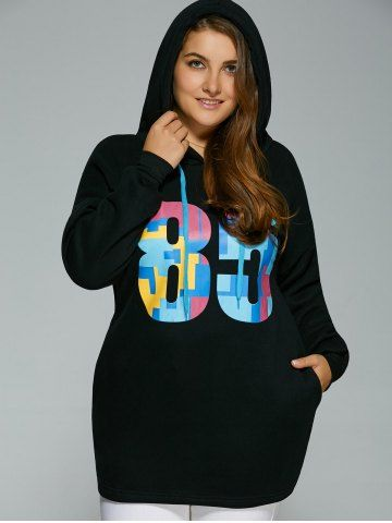GET $50 NOW | Join RoseGal: Get YOUR $50 NOW!http://www.rosegal.com/plus-size-hoodies/plus-size-colorful-number-print-821591.html?seid=2275071rg821591