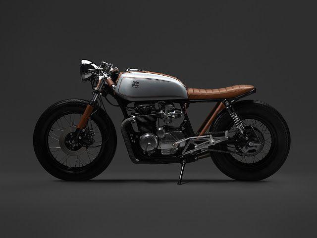 Honda CB650 Cafe Racer - Oscar Axhede - Photos by Petter Karlberg #motorcycles #caferacer #motos | caferacerpasion.com