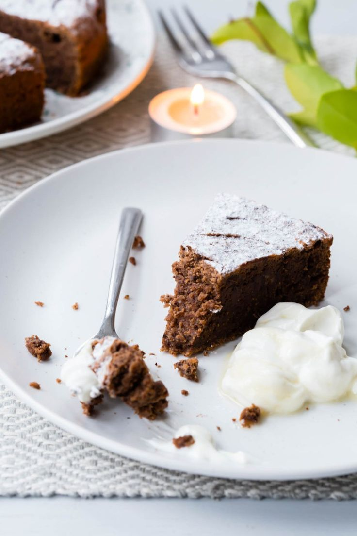 Thermomix Chocolate Chestnut Cake