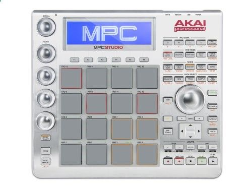 Akai Professional MPC Studio Music Production Controller with 9 GB Sound Library 999.00$ Fuses legendary MPC production with the processing power of your computer via the included MPC Software 9  GB of sounds included for inspired-production out of the box 16 Genuine MPC pads and 4 Q-Link controls with MPC Note Repeat and Swing for inspirational workflow