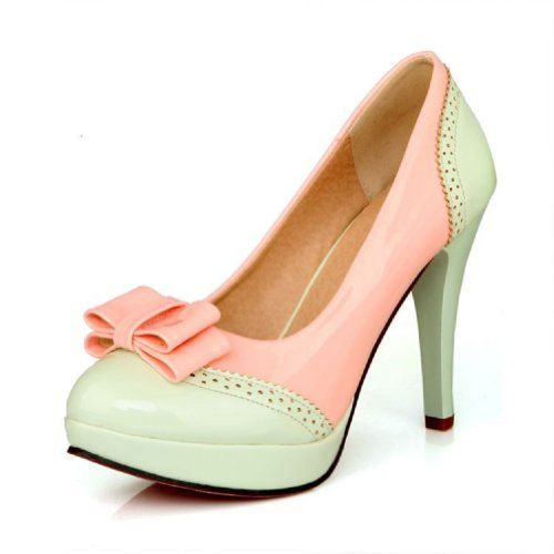 cool   Charm Foot Fashion Bows Womens Platform High Heel Stiletto Mary Jane Pump Dress Shoes (8.5, Green) #fashion #beauty #lifestyle #vintage #beverage #vintagedress #hair #nails  Check more at http://www.musthave.ovh/charm-foot-fashion-bows-womens-platform-high-heel-stiletto-mary-jane-pump-dress-shoes-8-5-green/