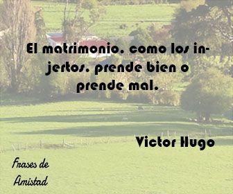 Frases de aniversario en español de Victor Hugo