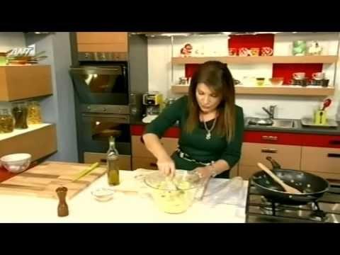 """Κοζανίτικo κιχι με φέτα και πράσο, με χωριάτικο φύλλο """"κιχι"""" της alfa! - YouTube"""