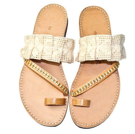 Handmade Leather Sandals  in accessories  with Wedding shoes leather Handmade fashion Accessories