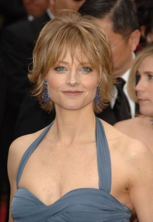 Jodie Foster - 49 (I want this hair style)