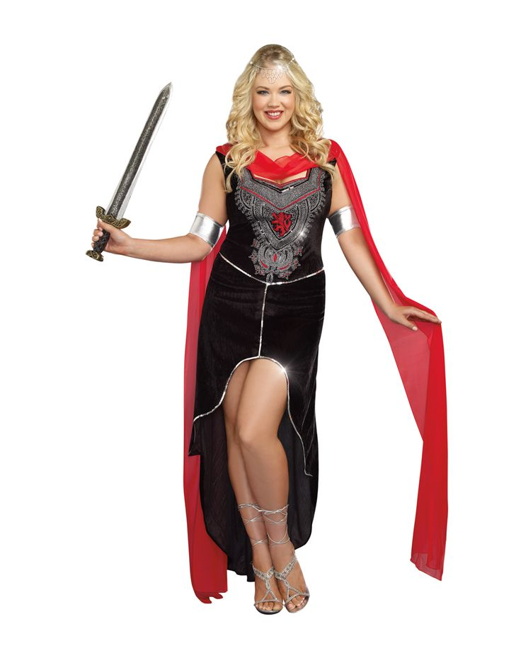 scandals warrior adult womens plus size costume - Size 18 Halloween Costumes