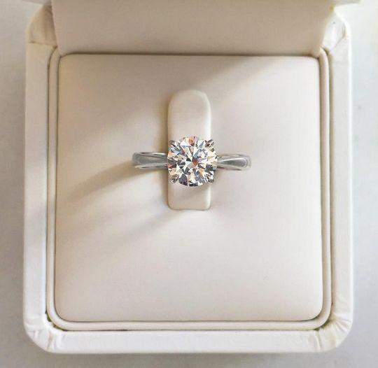 Naveya & Sloane - The Indus Setting   Engagement Ring Auckland