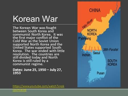 was the korean war a product of the cold war tensions essay 2011-03-21 explore the history of the korean war  the cold war turned hot for the first time in the korean  throughout the war, air power was decisive the north korean.