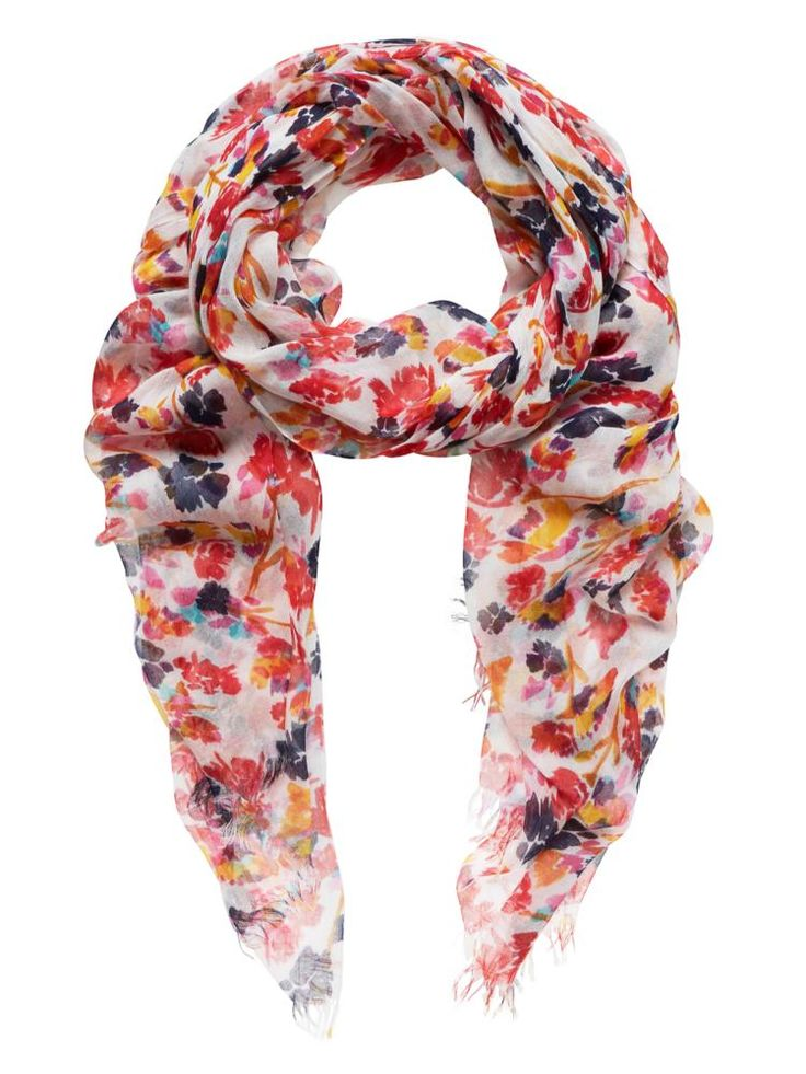 Sussan - Accessories - Scarves - Multi modern floral scarf ...