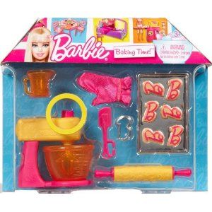 Barbie... Baking Time Cooking Doll Accessories