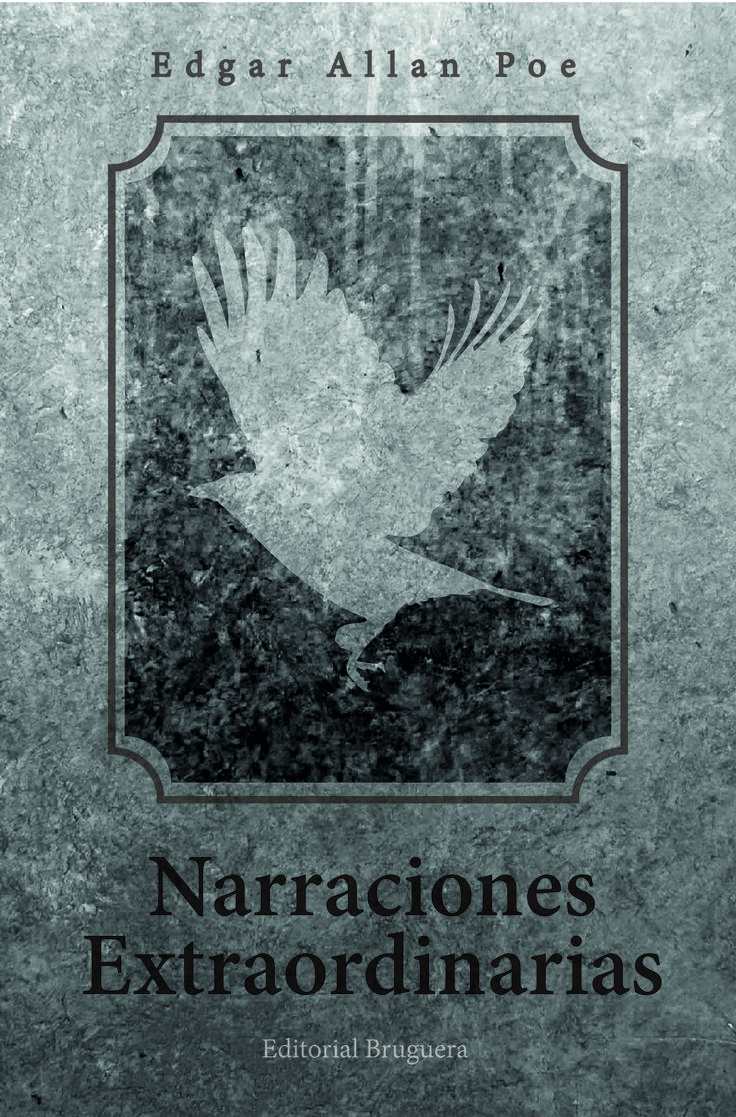 Tapa Narraciones Extraordinarias - Edgar Allan Poe.