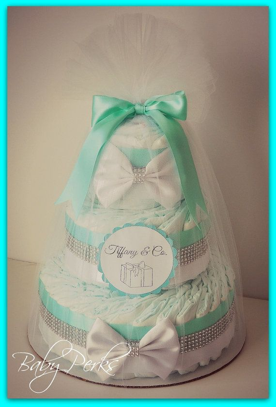 how to make a tiffany diaper cake