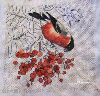 VERA:gondolataim  /kézimunkáról és egyebekről/: Finisbe a madaram../Bird & Berris collectica/