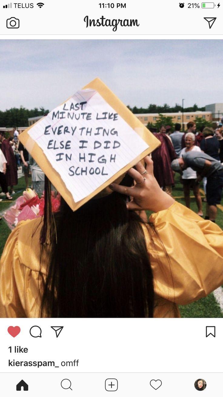 Graduation cap decoration  High school graduation cap decoration