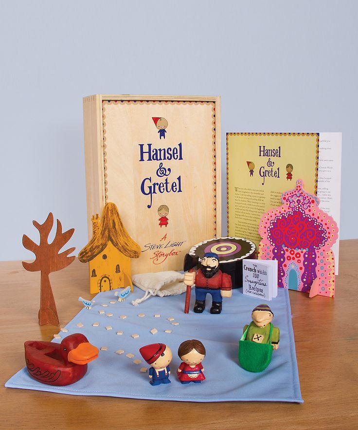 Hansel & Gretel Steve Light Storybox