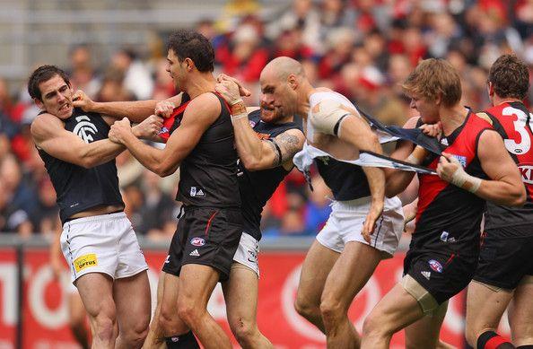 AFL Rd 21 - Essendon v Carlton  http://footyboys.com. Hahaha