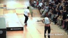 MURILO ROMÃO & LUCAS XAPARRAL #DROPDEADSKATEPRO2014 - http://DAILYSKATETUBE.COM/murilo-romao-lucas-xaparral-dropdeadskatepro2014/ - http://www.youtube.com/watch?v=i065Oma7Wcw&feature=youtube_gdata  Nos dias 12, 13 e 14 de dezembro aconteceu a confraternização mais tradicional do skateboard no Brasil, o DROPDEAD SKATE PRO 2014 na Drop Dead Skate Park, em Curitiba/PR. Imagens: ... - #DROPDEADSKATEPRO2014, lucas, murilo, Romão, Xaparral