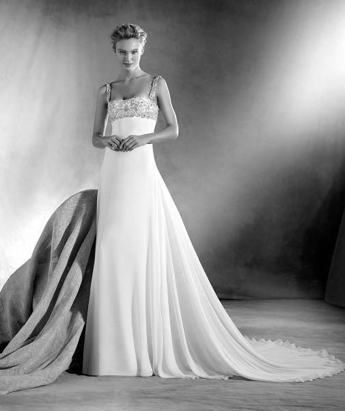Vestidos de novia escote cuadrado 2017: Diseños que nunca pasan de moda Image: 4