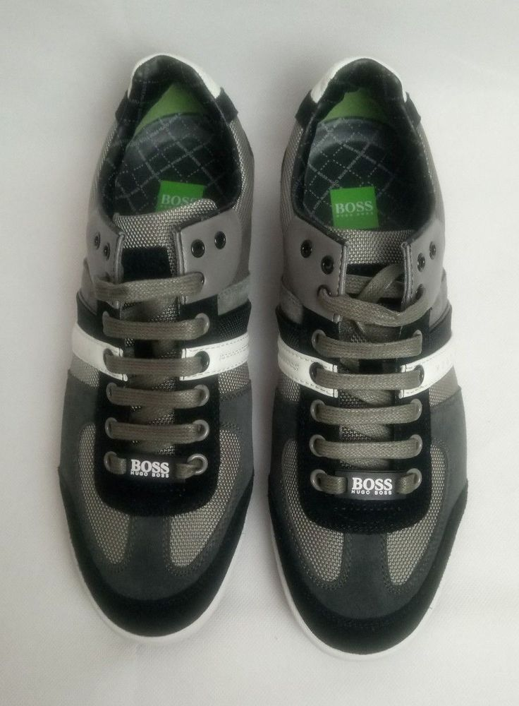 info for b4728 1a1d4 New Hugo Boss Green Label Akeen Trainers - EU size 41- UK size 7