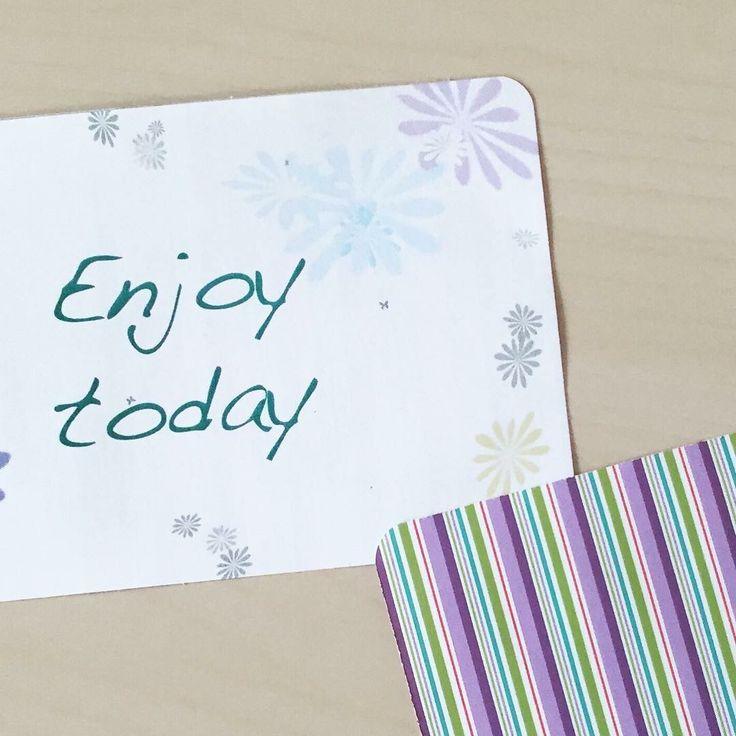 #enjoy #card #diy #creazioni #faidate
