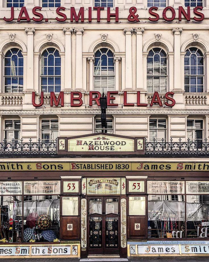 Umbrella shop in London