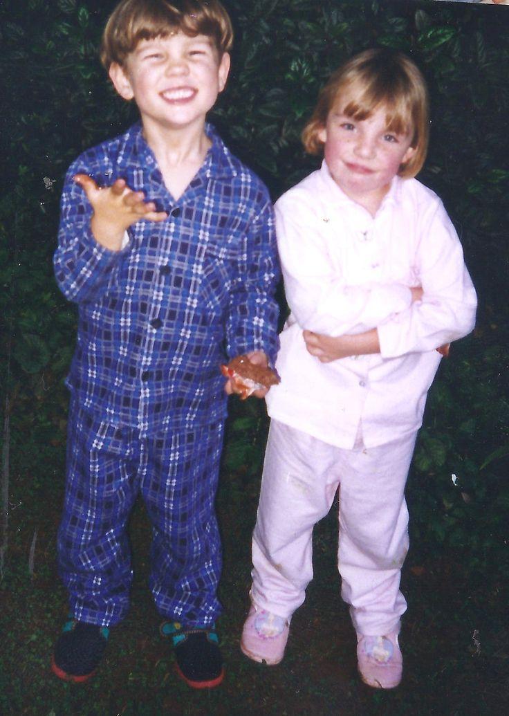 Jack & Hols age 4.