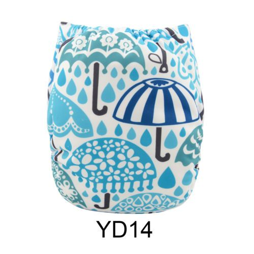 New-ALVA-Reusable-Washable-Baby-Cloth-Diaper-Nappy-Umbrella-print-1Insert-YD14